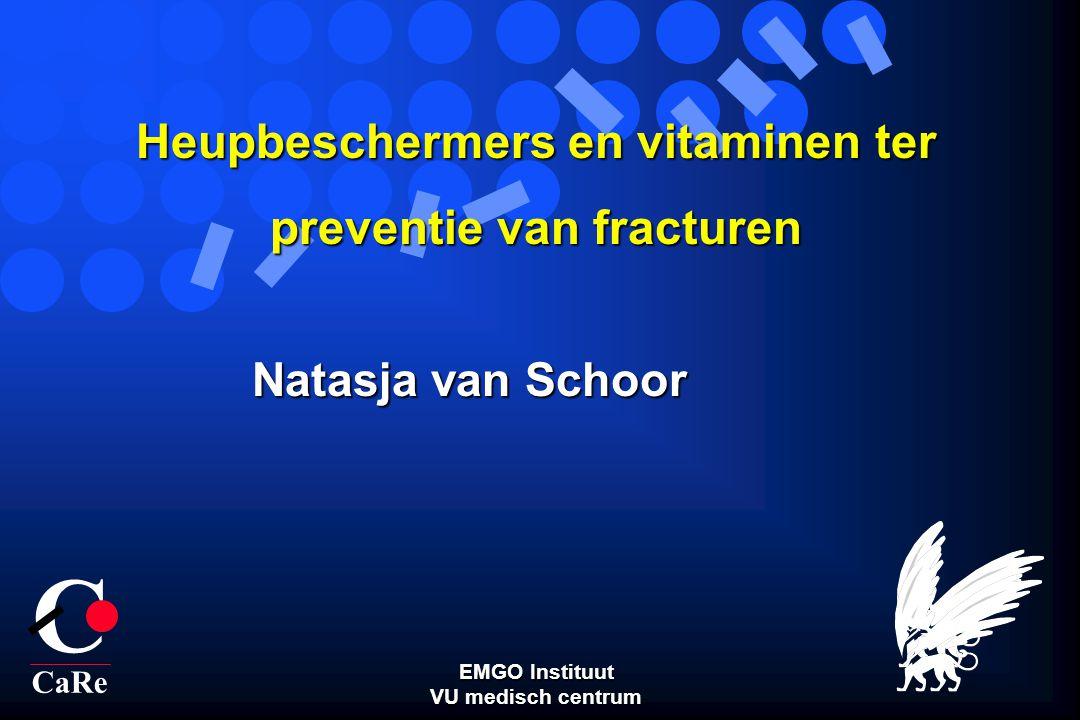 Heupbeschermers en vitaminen ter preventie van fracturen