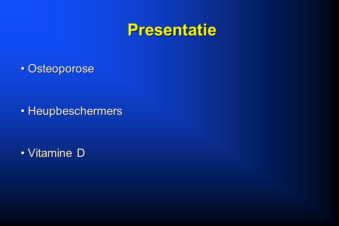 Presentatie Osteoporose Heupbeschermers Vitamine D