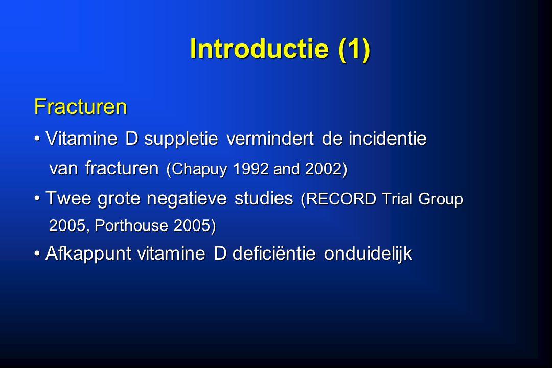 Introductie (1) Fracturen