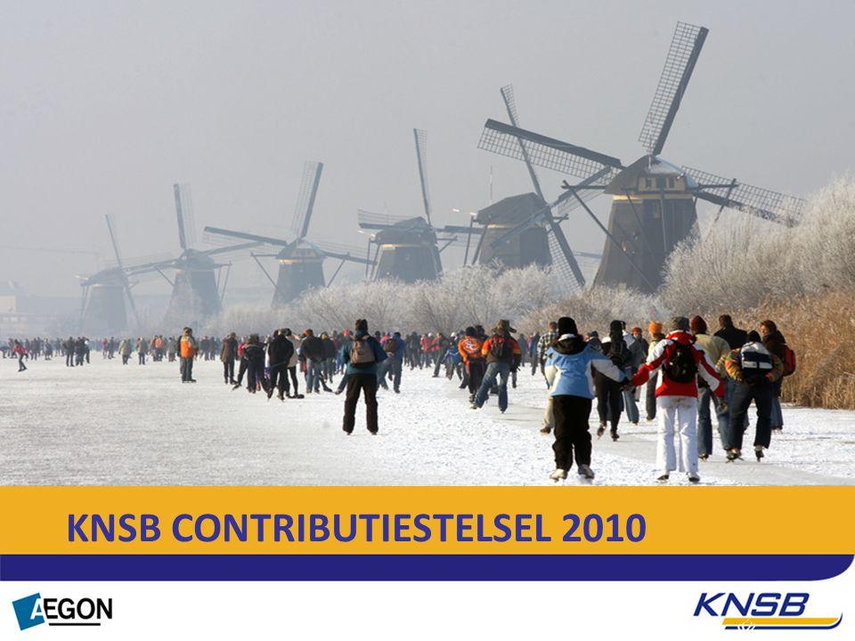 Tekst KNSB CONTRIBUTIESTELSEL 2010