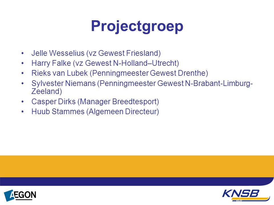 Projectgroep Jelle Wesselius (vz Gewest Friesland)