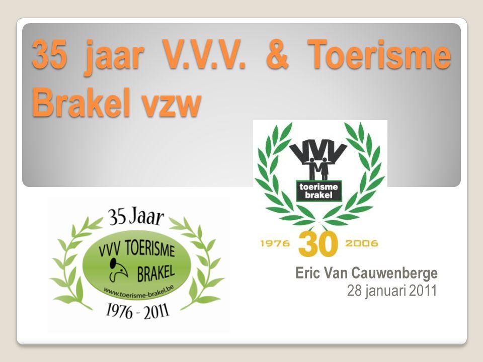 35 jaar V.V.V. & Toerisme Brakel vzw