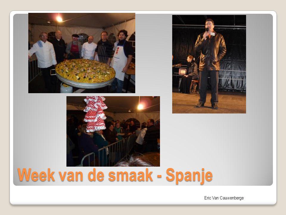 Week van de smaak - Spanje