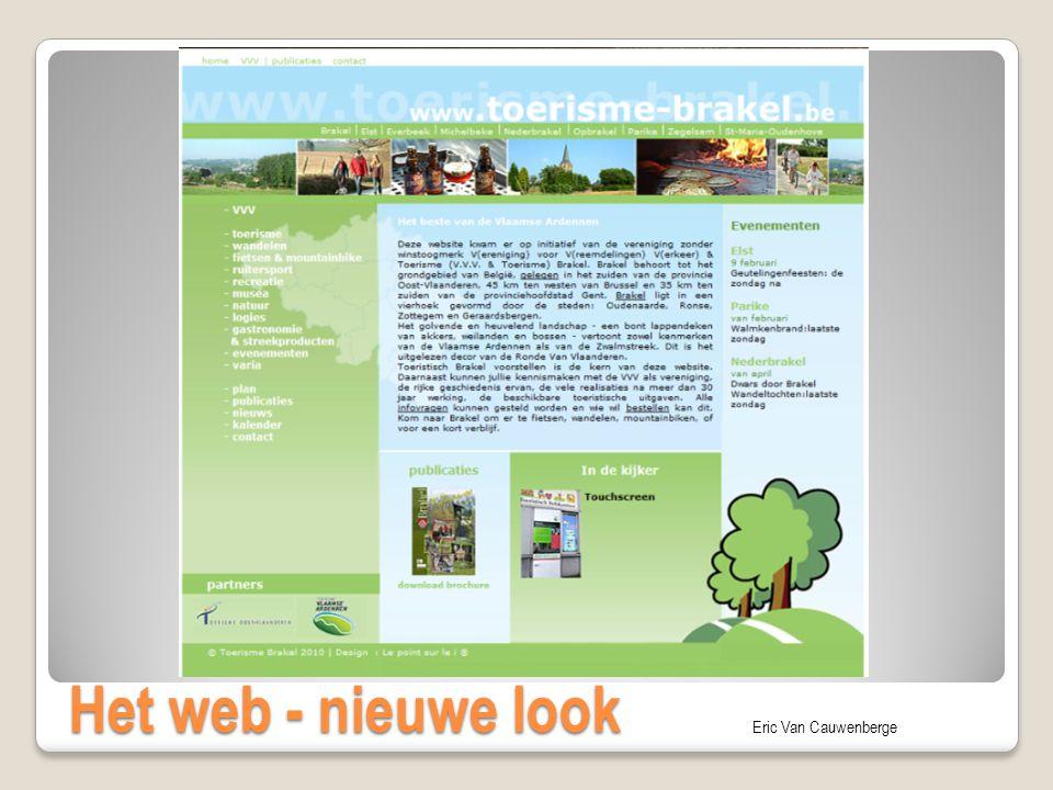 Het web - nieuwe look