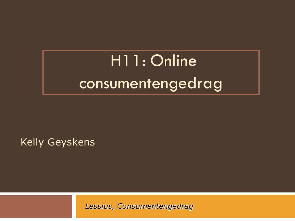 H11: Online consumentengedrag