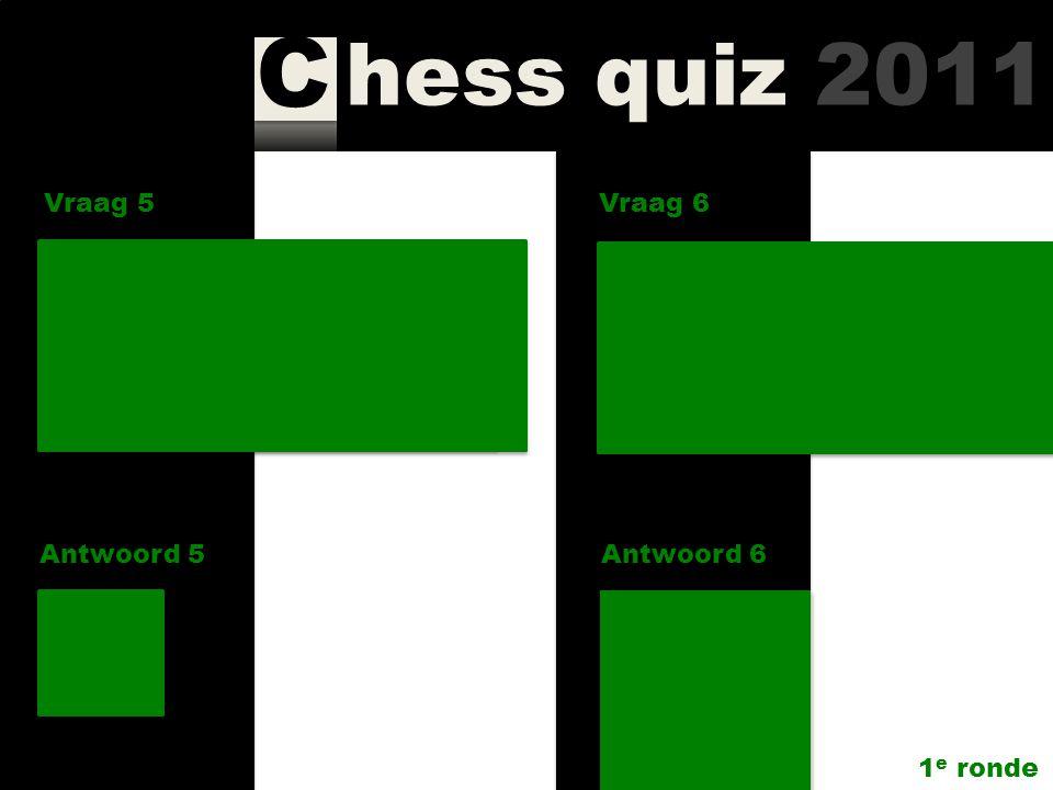 Vraag 5 Vraag 6. Hoeveel vrouwen speelden in de A-, B- en C-groep van Corus Chess 2010