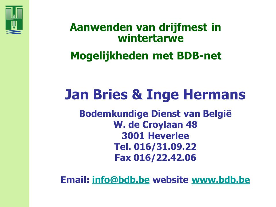 Jan Bries & Inge Hermans