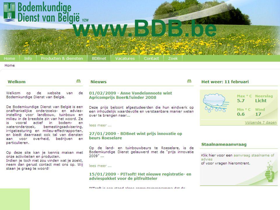 www.BDB.be Vertrouwde adres: www.bdb.be Vanaf deze avond