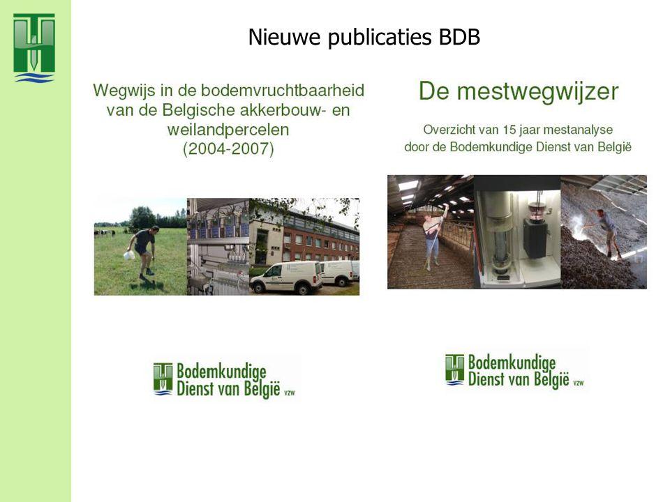Nieuwe publicaties BDB