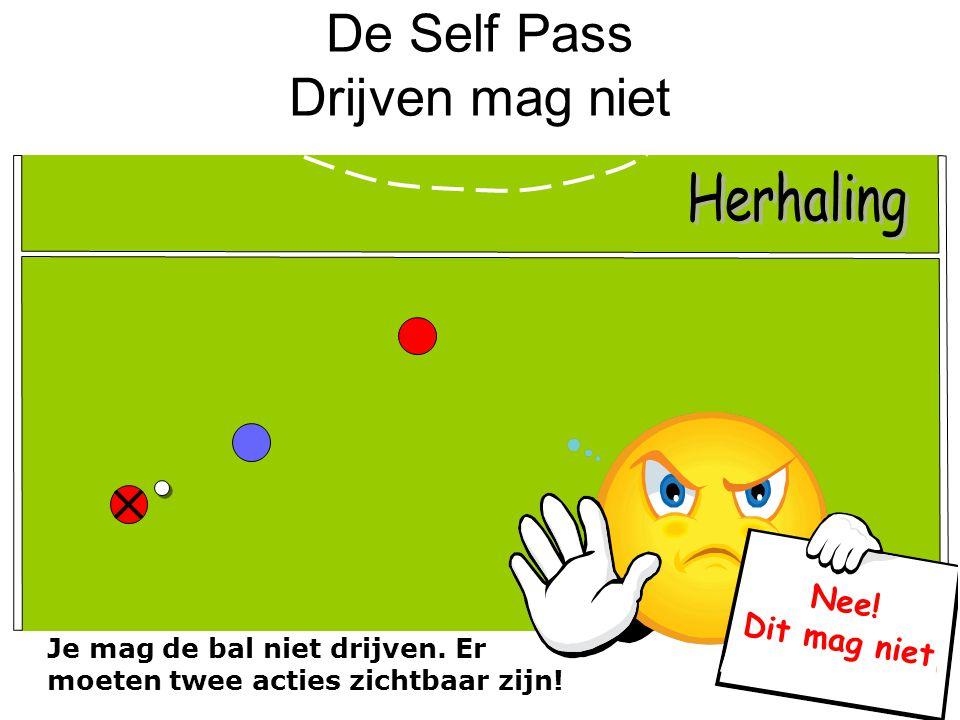 De Self Pass Drijven mag niet