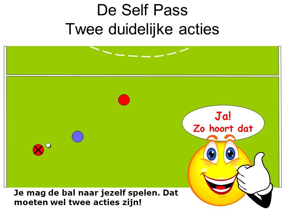 De Self Pass Twee duidelijke acties