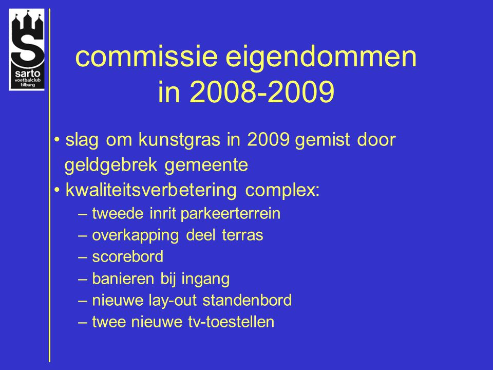 commissie eigendommen in