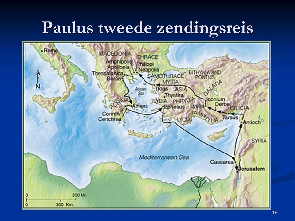 Paulus tweede zendingsreis