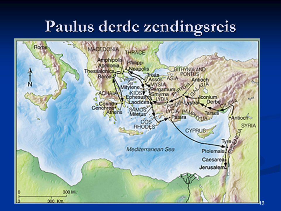 Paulus derde zendingsreis