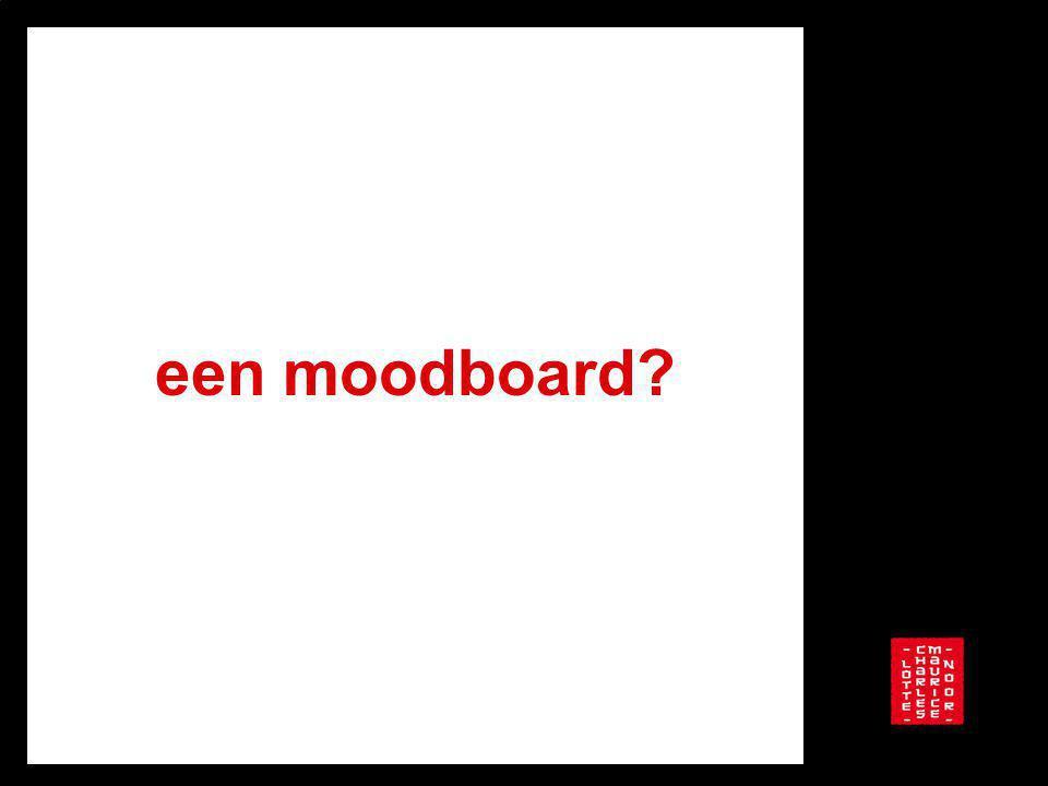 een moodboard