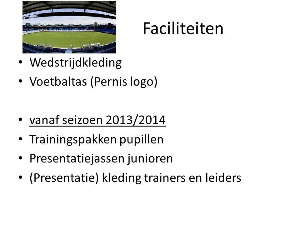 Faciliteiten Wedstrijdkleding Voetbaltas (Pernis logo)