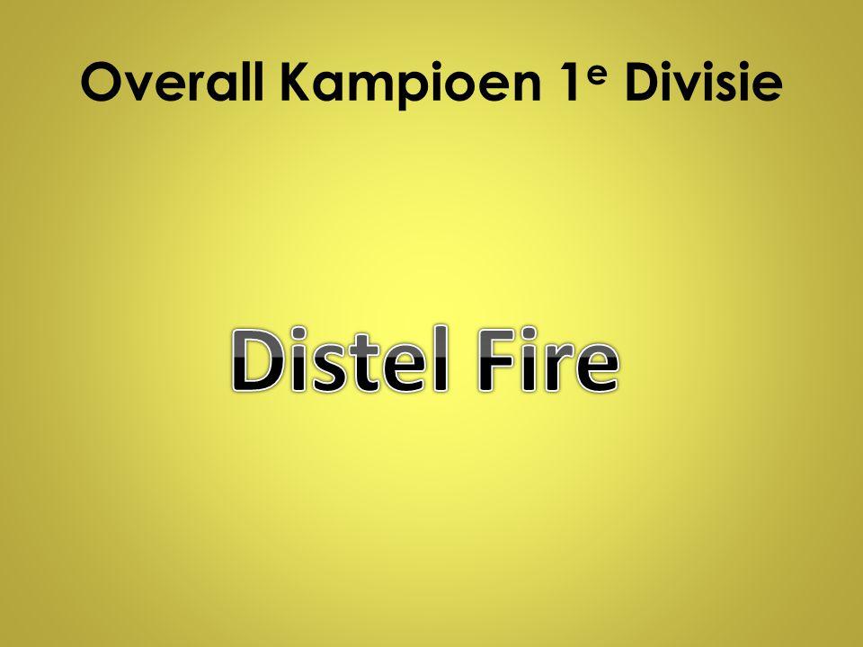 Overall Kampioen 1e Divisie