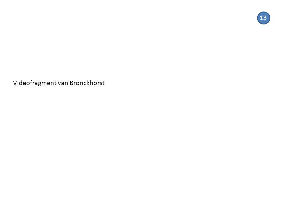 13 Videofragment van Bronckhorst
