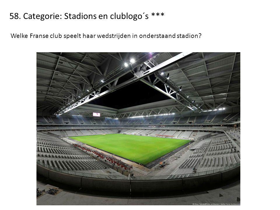 58. Categorie: Stadions en clublogo´s ***