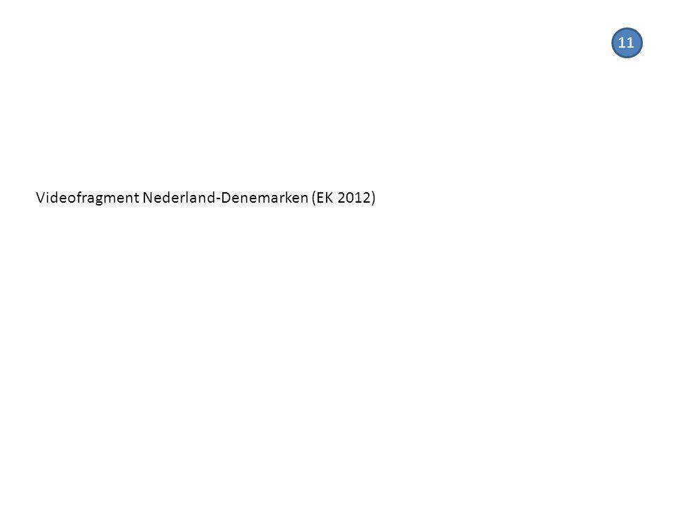 11 Videofragment Nederland-Denemarken (EK 2012)