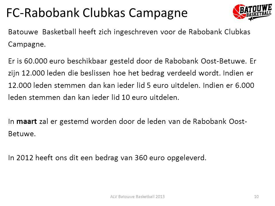 FC-Rabobank Clubkas Campagne