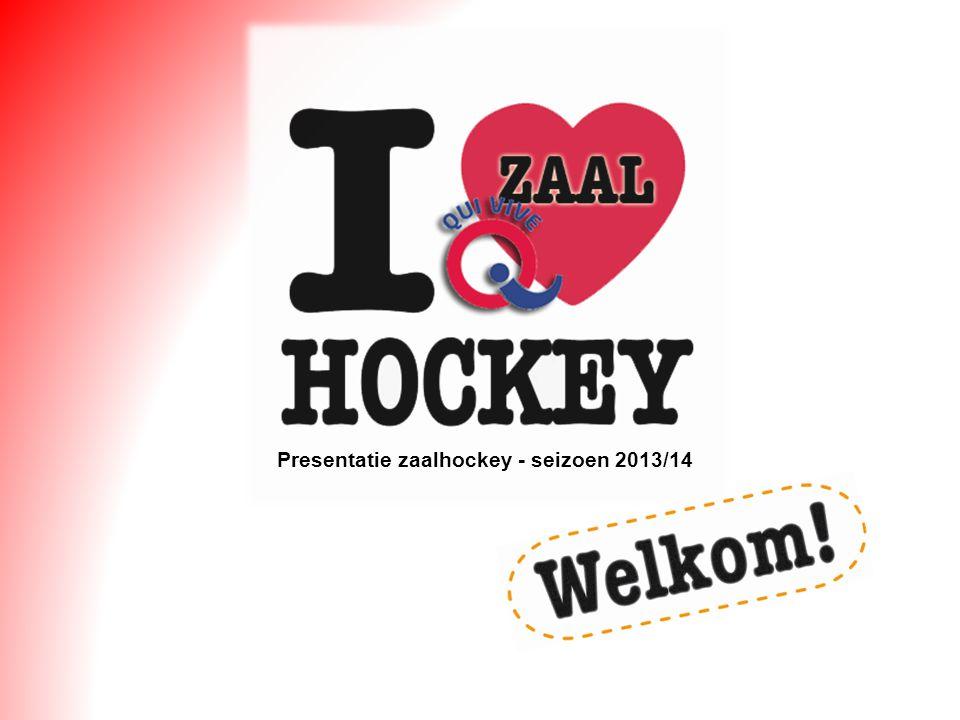 Presentatie zaalhockey - seizoen 2013/14