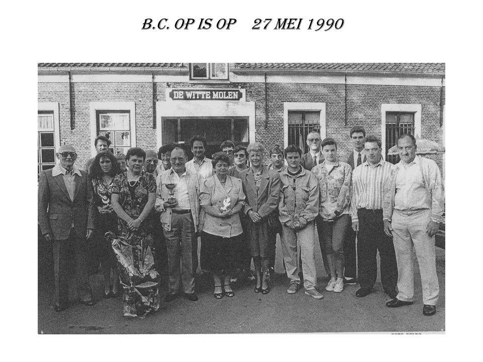 B.C. Op is Op 27 MEI 1990
