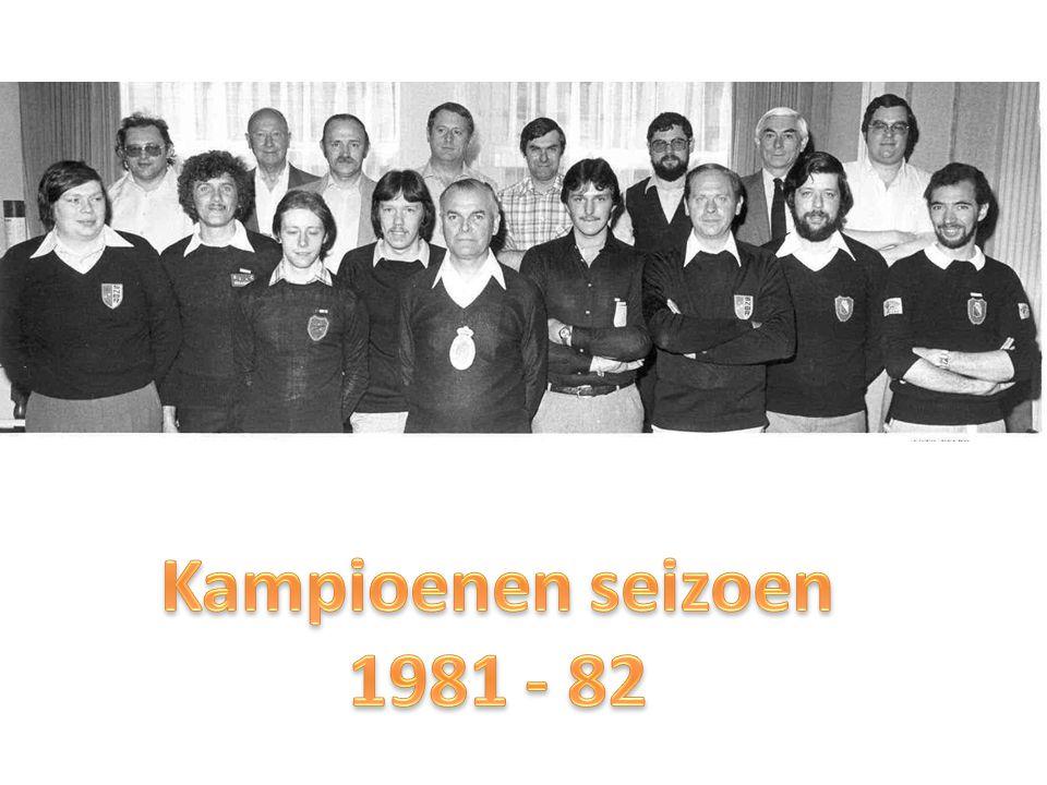 Kampioenen seizoen 1981 - 82