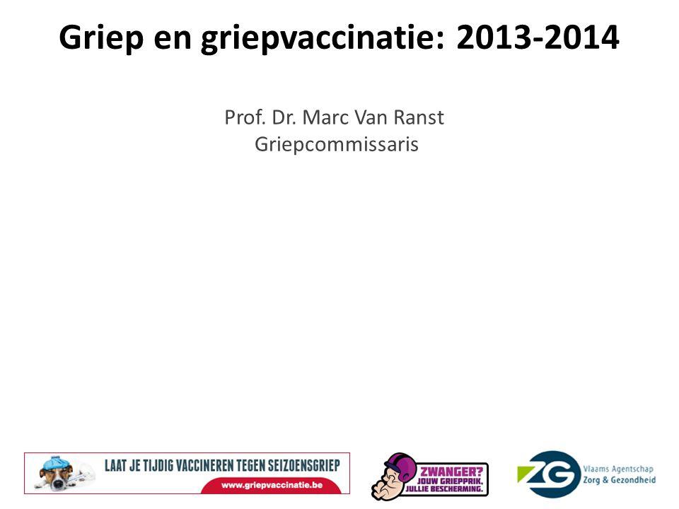 Griep en griepvaccinatie: 2013-2014