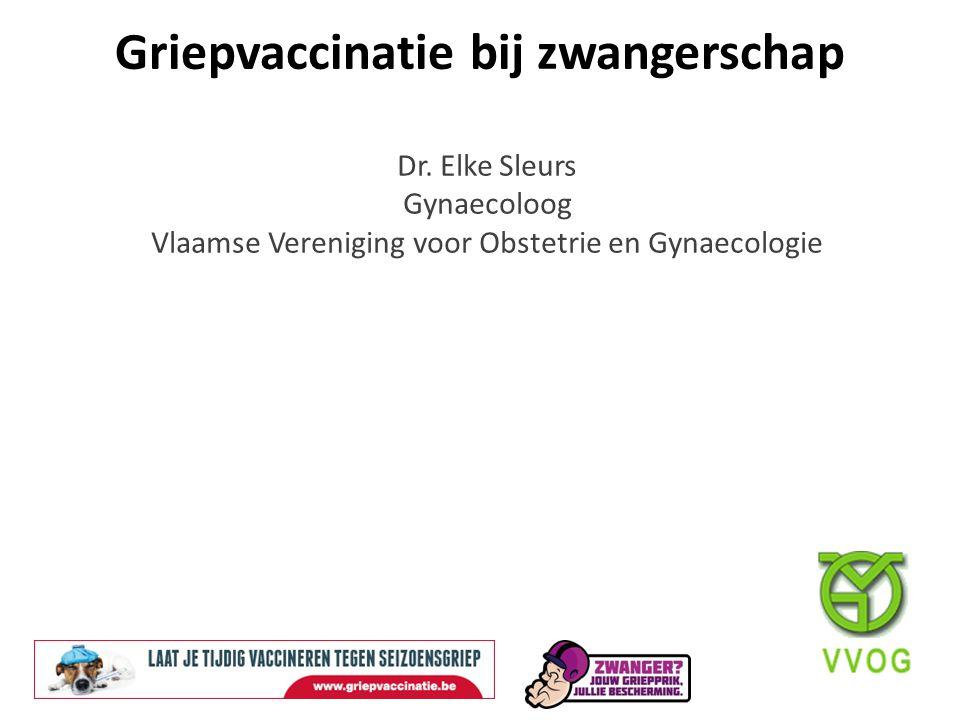 Griepvaccinatie bij zwangerschap
