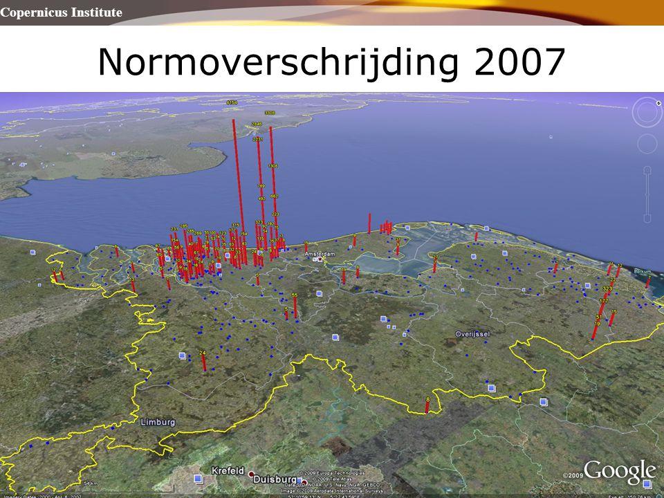 Normoverschrijding 2007