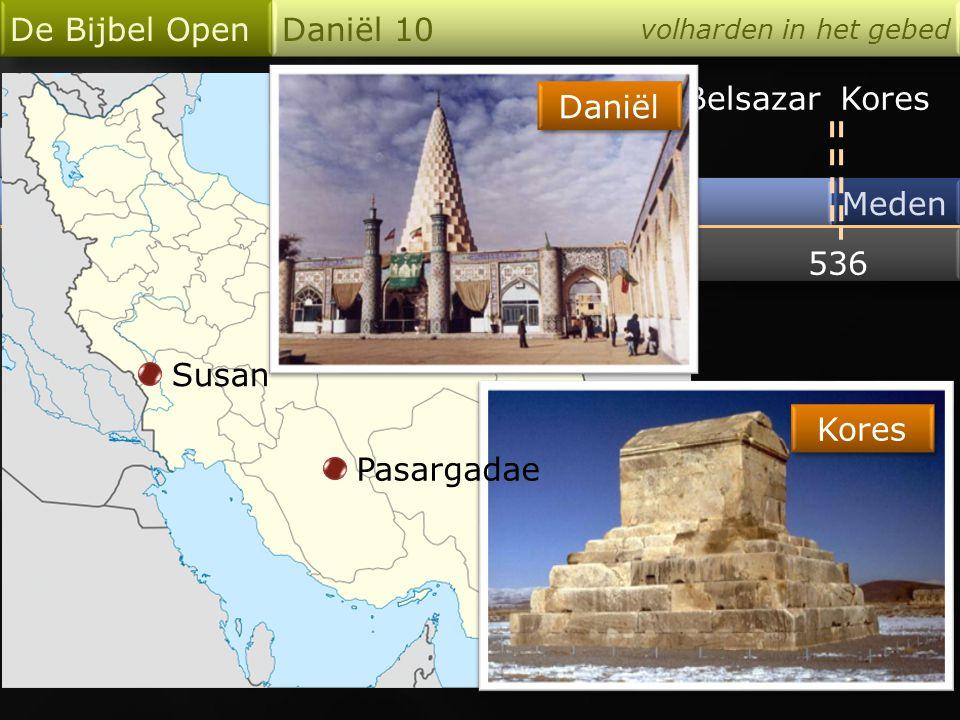 De Bijbel Open Daniël 10 Merodach-Baladan Nebukadnezar Belsazar Kores
