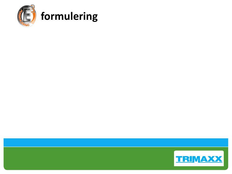 formulering Trinexapac vs Trinexapac-ethyl Quicker uptake