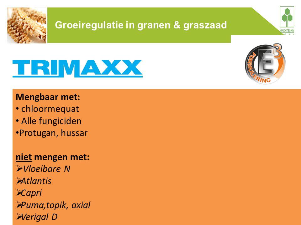 Groeiregulatie in granen & graszaad