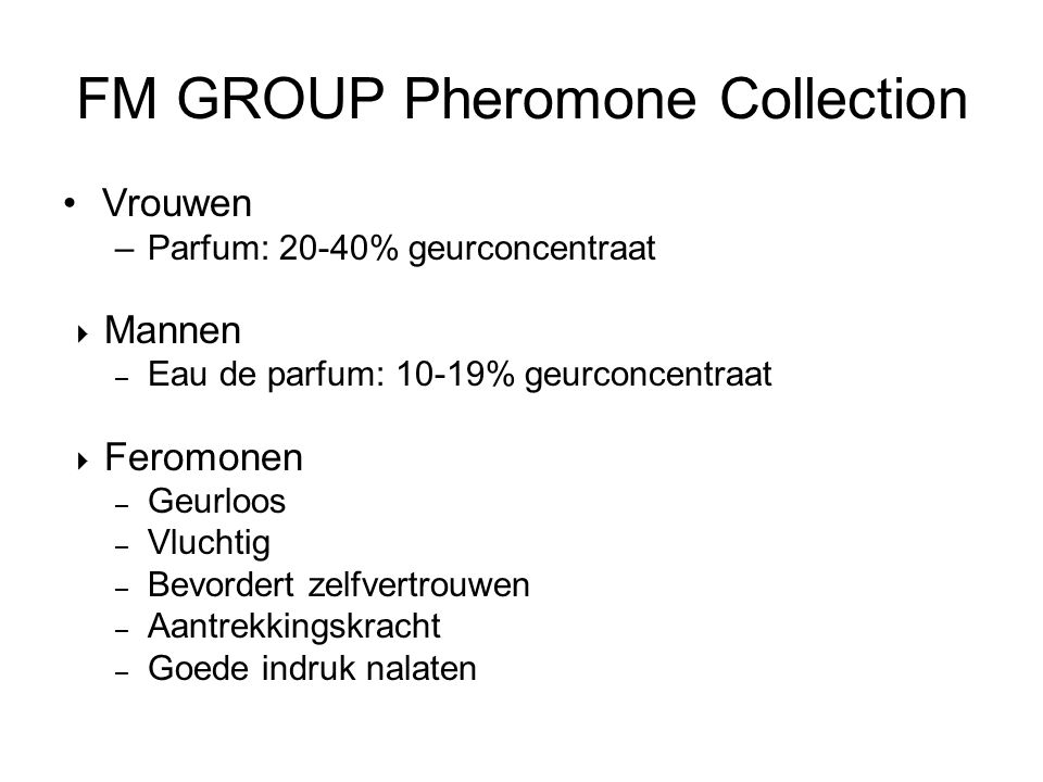 FM GROUP Pheromone Collection