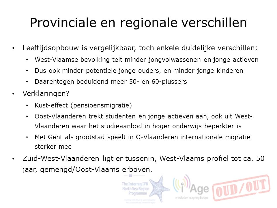 Provinciale en regionale verschillen