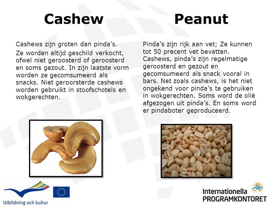 Cashew Peanut.