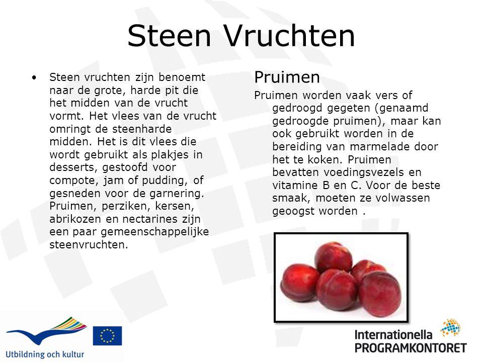 Steen Vruchten Pruimen