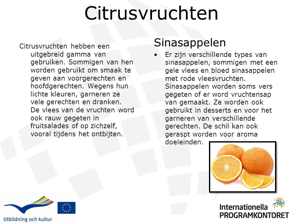 Citrusvruchten Sinasappelen