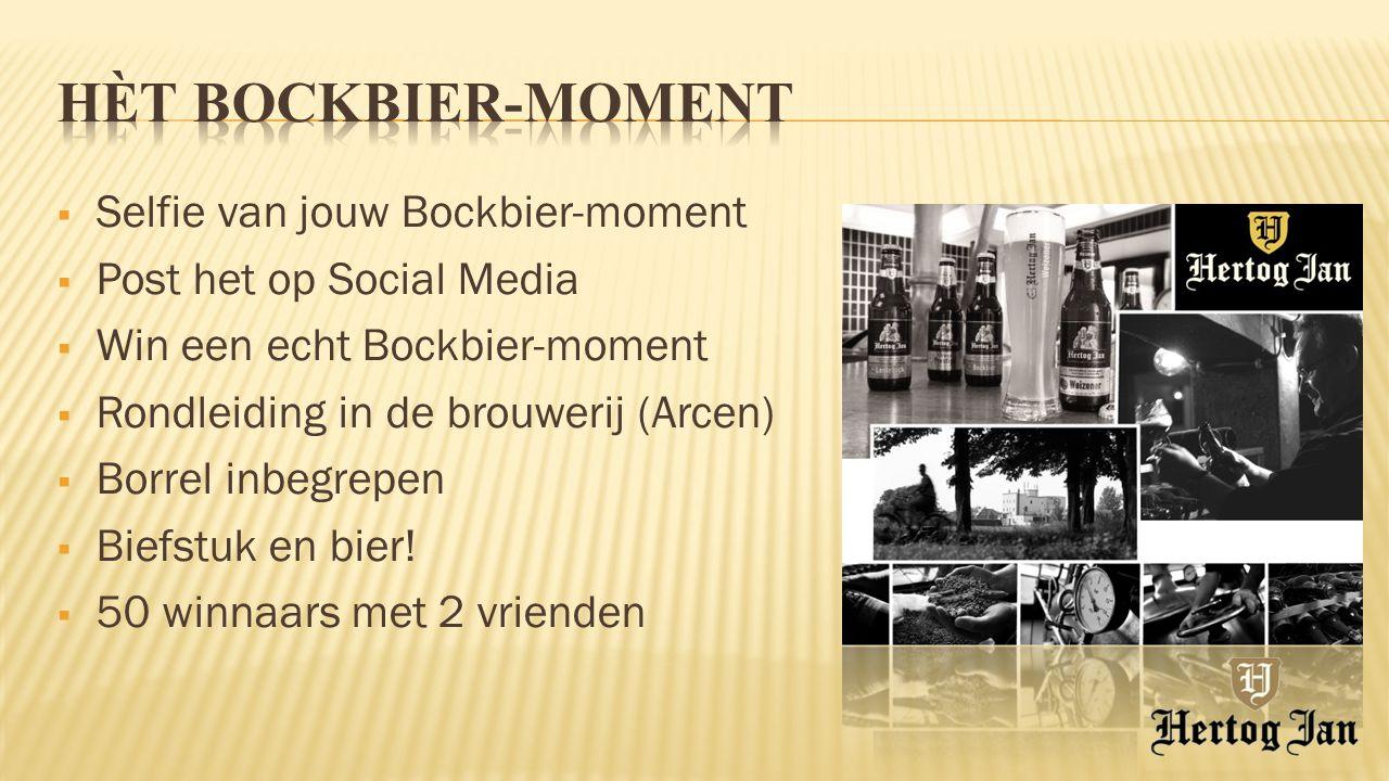 Hèt Bockbier-moment Selfie van jouw Bockbier-moment