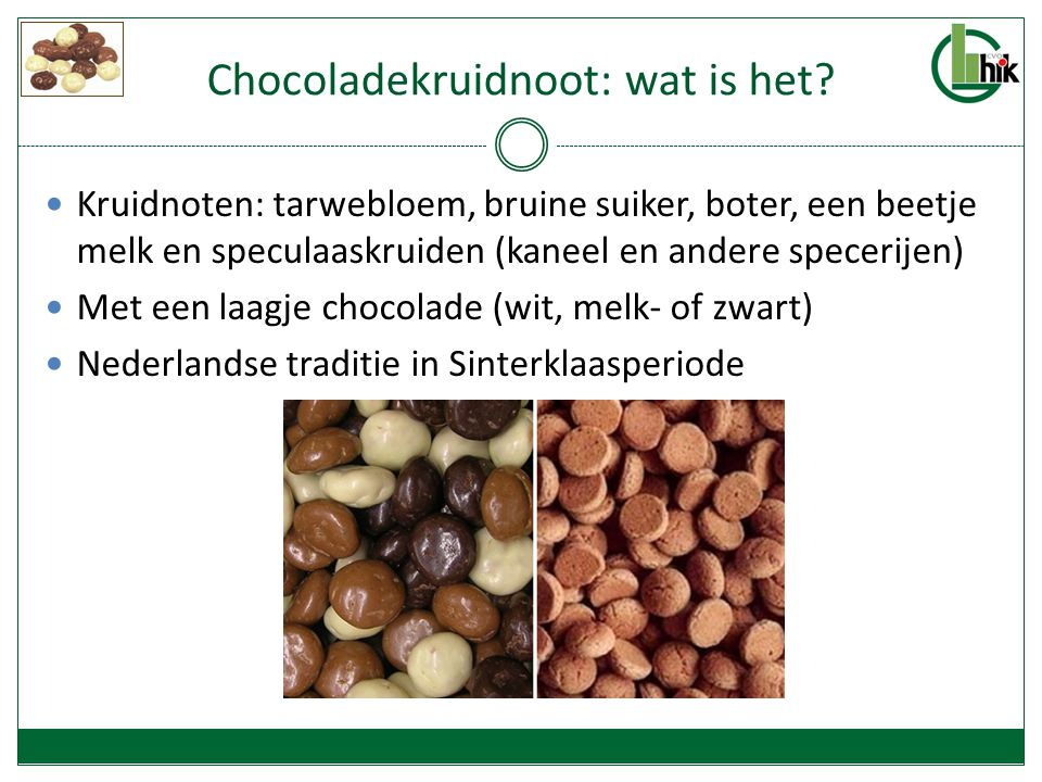 Chocoladekruidnoot: wat is het