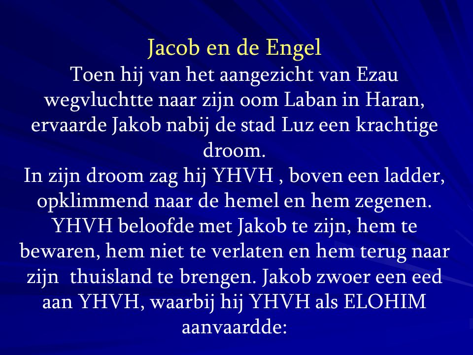 Jacob en de Engel