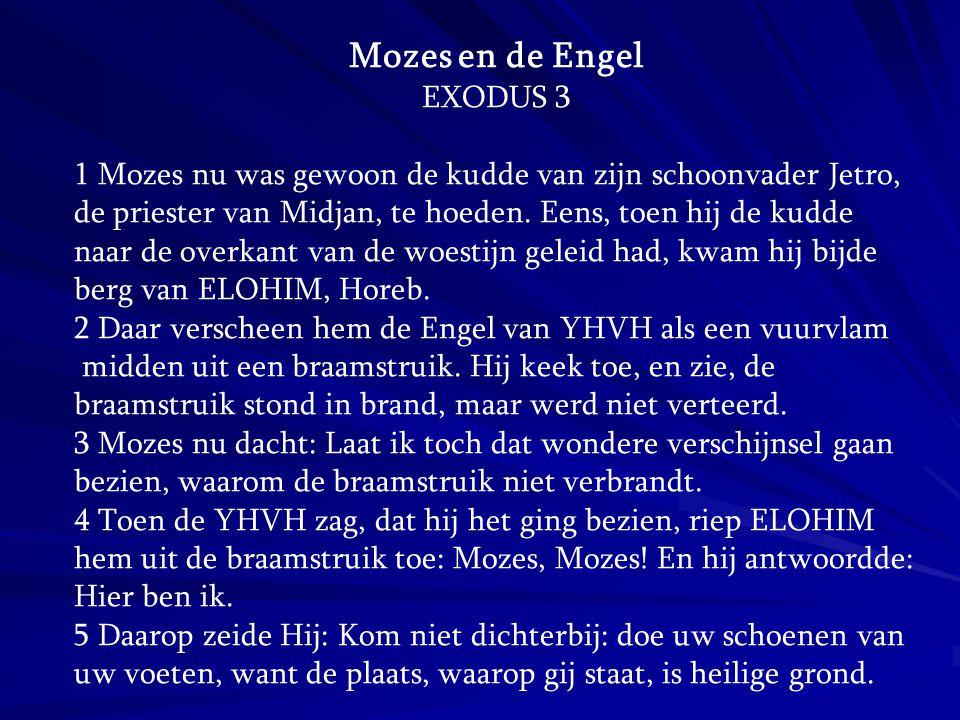 Mozes en de Engel EXODUS 3
