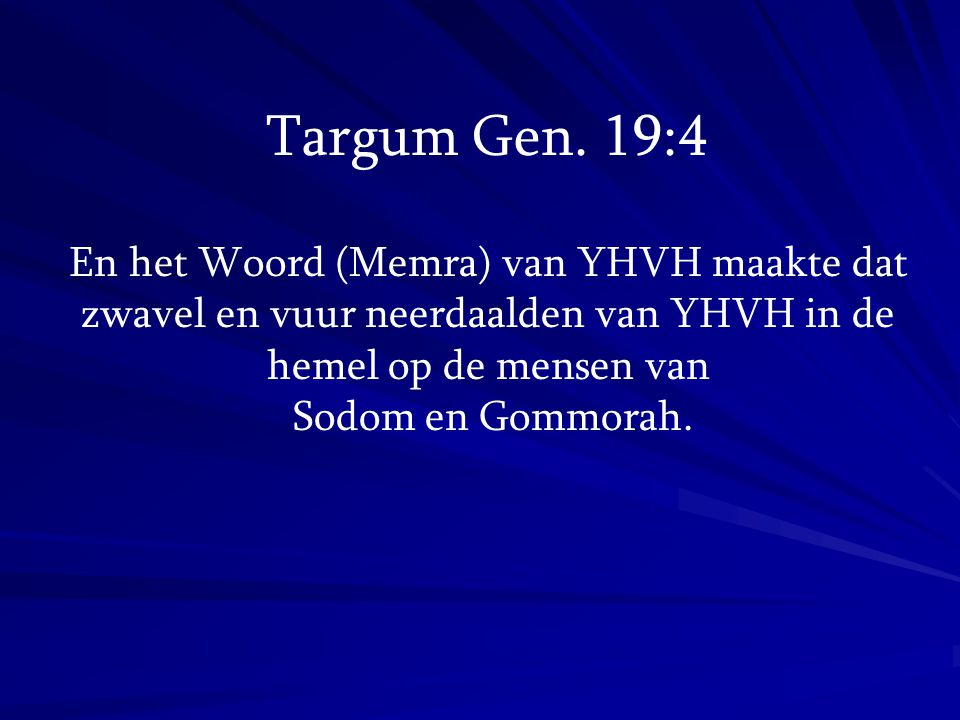 Targum Gen.