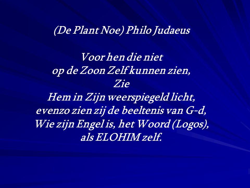 (De Plant Noe) Philo Judaeus Voor hen die niet