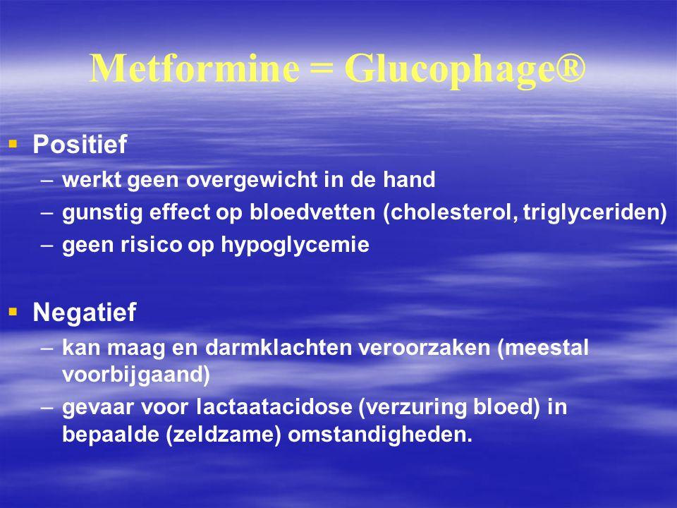 Metformine = Glucophage®