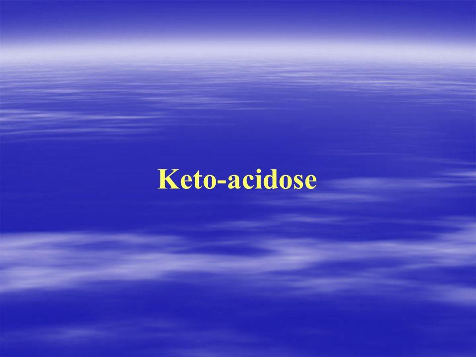 Keto‑acidose