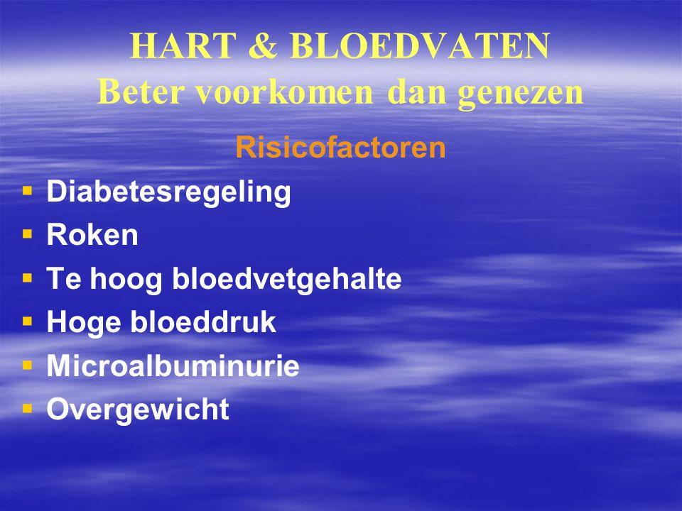 HART & BLOEDVATEN Beter voorkomen dan genezen