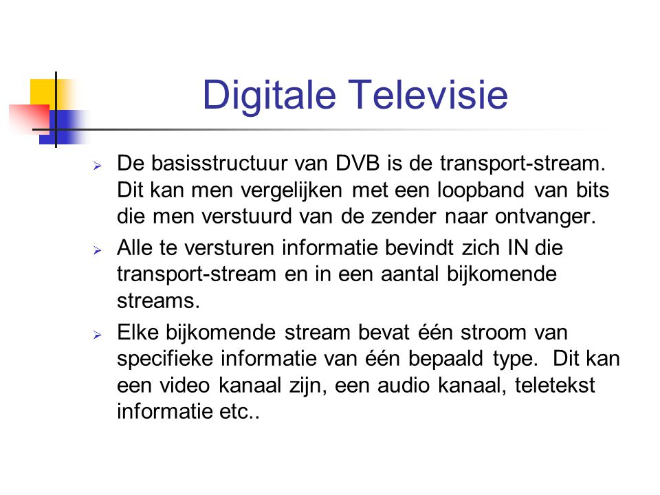 Digitale Televisie