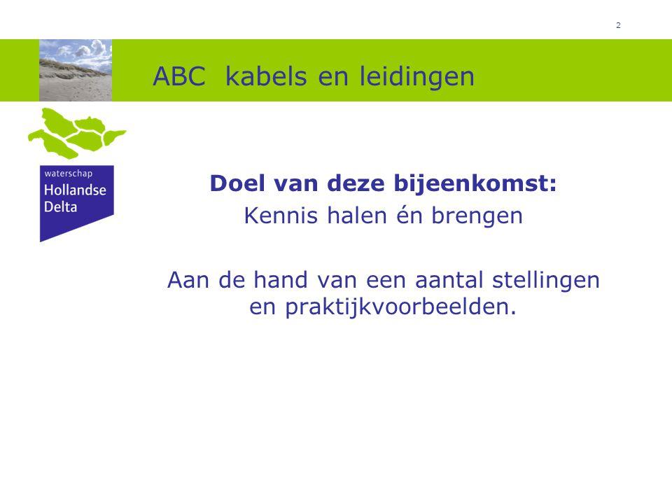 ABC kabels en leidingen